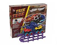 """Трек """"TRIX TRUX"""" 4x4 двумя машинами"""