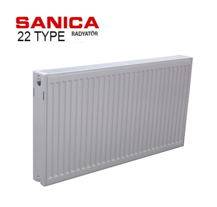 Радиатор стальной SOLARIS22 тип 300 * 1100