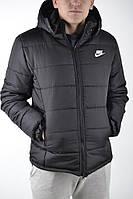Зимняя мужская курточка, чоловіча куртка-бомбер Nike, Реплика