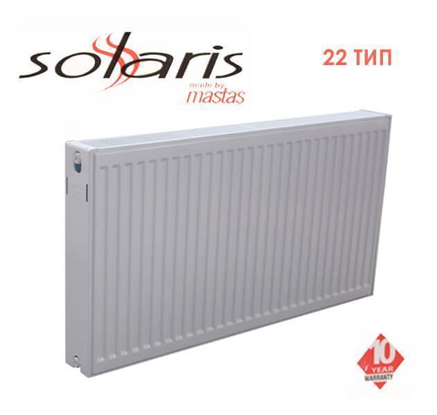 Радиатор стальной SOLARIS 22 тип 500 * 1400