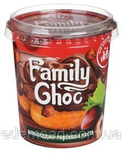 """Шоколадно-фундуковая паста Family Choc """"Good Energy"""", 400г"""
