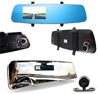 Відеореєстратор Remax CX-03 дзеркало заднього виду + 2 камери Чорний