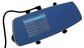 Видеорегистратор зеркало Remax CX-03 Full HD на 2 камеры Черный