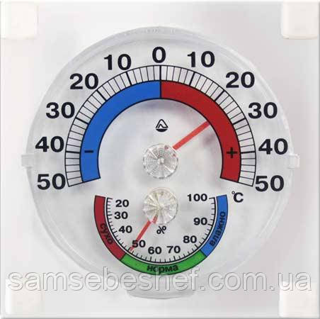 Термометр-Гигрометр оконный ТГО-1