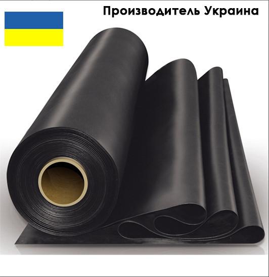 Пленка черная Союз 110 мкм (для мульчирования,строительная)