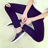 Мужские джинсы с рваным коленом, фото 2