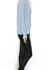 В'язаний жіночий  джемпер з перлинками Vivacita, фото 3