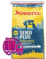 Корм Josera Sensi Plus Йозера Сенсі Плюс для собак без глютену з качкою і птицею 15 кг