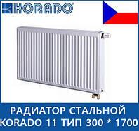 Радиатор стальной KORADO 11 тип 300 * 1700