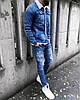Куртка мужская джинсовая на меху демисезон, фото 5
