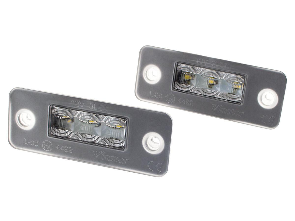 Подсветка номера LED Audi A8 D3 4E0 2002-2010 ауди