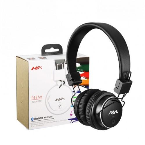 Бездротові навушники bluetooth MDR НЯ Q8 microSD Black