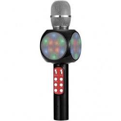 Беспроводной караоке микрофон WS-1816 чёрный с функцией изменения тембра голоса
