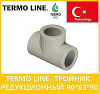 Termo Line тройник редукционный 90*63*90, фото 1