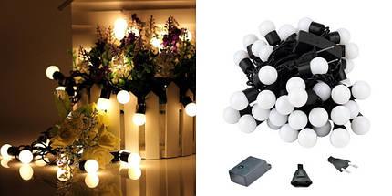 Новогодняя гирлянда, 50 светодиодов, 8,5 Метров, фото 2