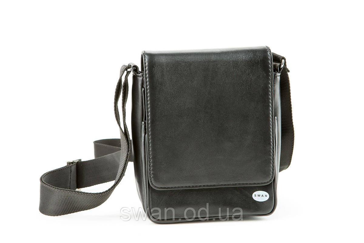 50b8036e4c87 Маленькая мужская сумка через плечо для документов SWAN, цена 509,60 ...