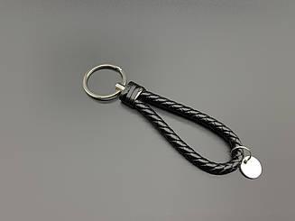 Ремешки для ключей с кольцом. Цвет черный. 14см