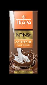 Шоколад 175г TRAPA INTENSO молочний, 17шт/ящ 023204_М