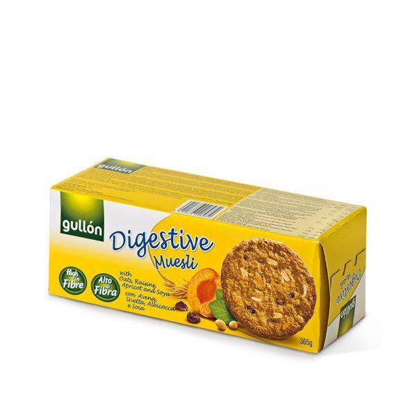 Печиво GULLON Digestive Muesli 365г, 15 шт/ящ