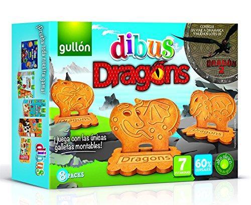 Печиво GULLON DIBUS Dragons, 300г, 12шт/ящ