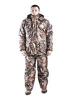 Зимний костюм для охоты и рыбалки Бурый лес, непродуваемый, тёплый и надежный, все размеры