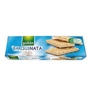 Вафлі GULLON Barquinata з білим кремом, 150г, 16шт/ящ