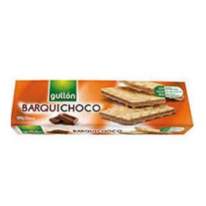Вафлі GULLON Barquichoco з шоколадним кремом, 150г, 16шт/ящ