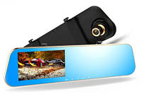 Зеркало-видеорегистратор с двумя камерами DVR FullHD 1080p
