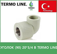 Уголок (90) 20*3/4 В Termo Line, фото 1