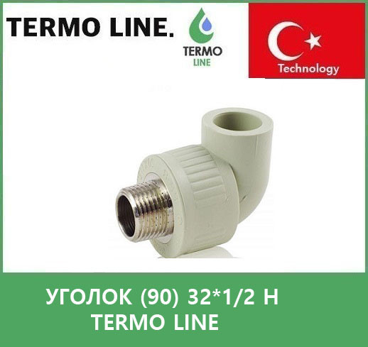 Уголок (90) 32*1/2 н Termo Line