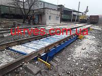 Ваги вагонні двох платформні НПВ150 т бесфундаметные, фото 1