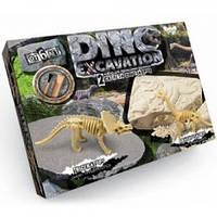 Набор для проведения раскопок Dino Excavation Динозавры Danko Toys DEX-01-01