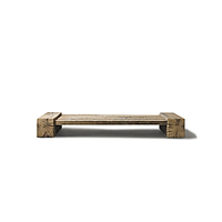 Стол дизайнерский журнальный WorkShop из массива Дуба, КОД: 162155
