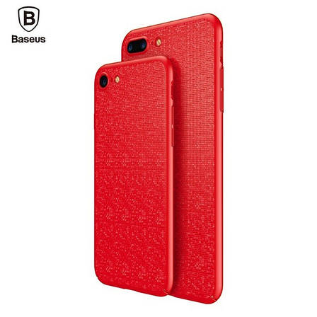 "Пластиковая накладка Baseus Plaid Ultrathin для Apple iPhone 7 / 8 (4.7""), фото 2"