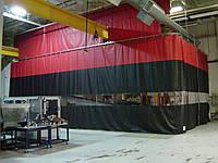 Шторы для цеха из водо- морозостойкой ткани ПВХ (Бельгия)