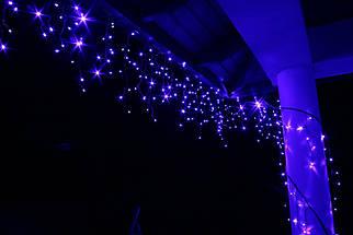 Новогодняя гирлянда Бахрома 500 LED, Голубой свет, 18 м, 22W, фото 3
