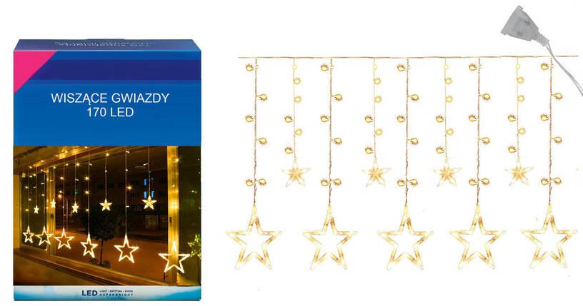 "Новогодняя гирлянда ""Звезда"" 170 LED, 3,5 Метра, фото 2"