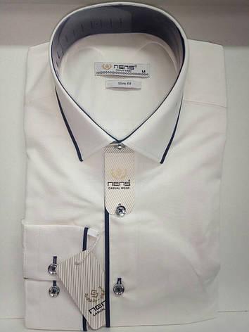 Рубашка мужская Nens айвори, фото 2