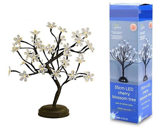 """Гирлянда """"BONSAI"""" 24 LED, Высота дерева 35 см, фото 2"""