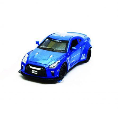 """Машинка """"Nissan GTR"""" из серии """"Автопром"""" (синяя)"""