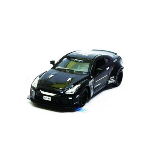 """Машинка """"Nissan GTR"""" из серии """"Автопром"""" (черная)"""
