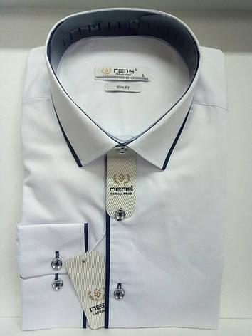 Однотонная мужская рубашка Nens, фото 2