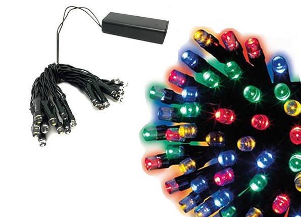 Новогодняя гирлянда IP44, 40 LED, Мультиколор, Длина 4,5 м, фото 2