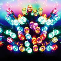 Новогодняя гирлянда IP44, 40 LED, Мультиколор, Длина 4,5 м, фото 3