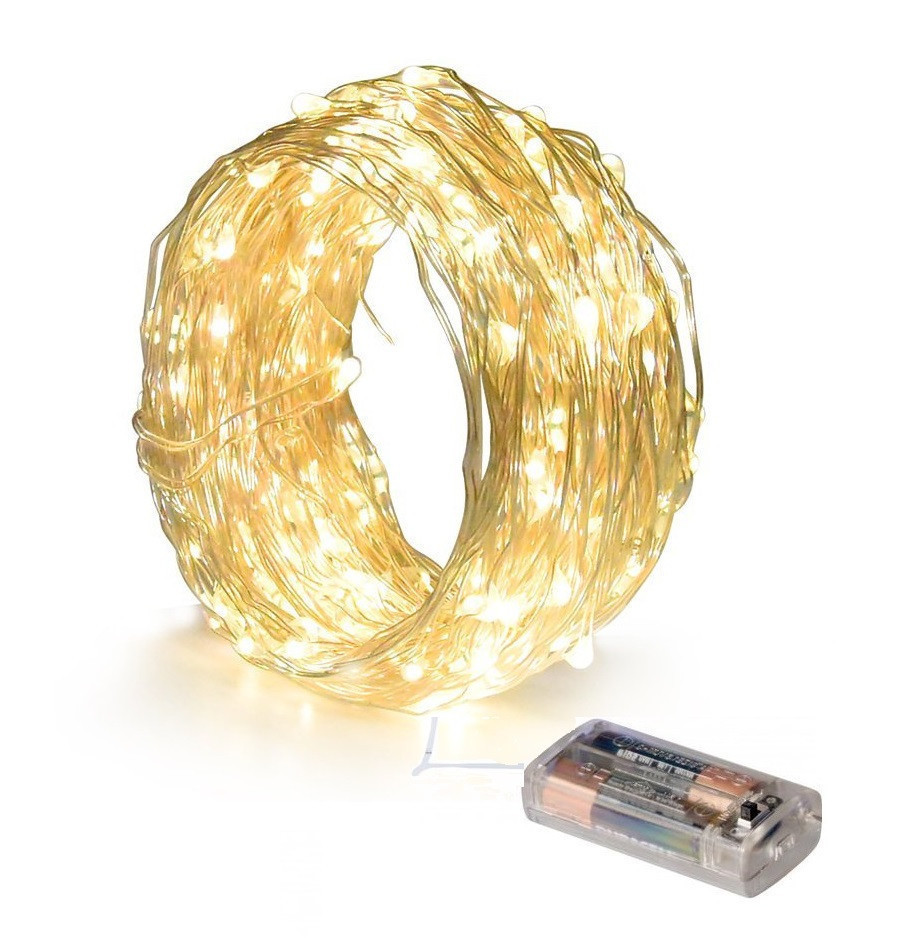 Новогодняя гирлянда 10 LED, Длина 1,5M
