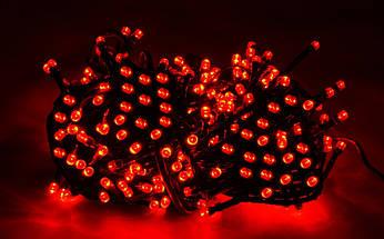 Новогодняя гирлянда 100 LED,Красный , Длина 8 Метров, фото 3
