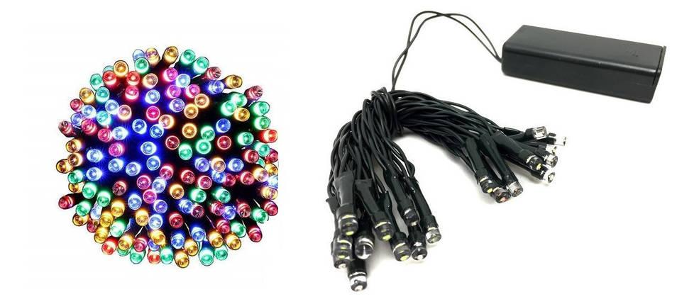Новогодняя гирлянда 40 LED, 4 M, Разноцветная, фото 2