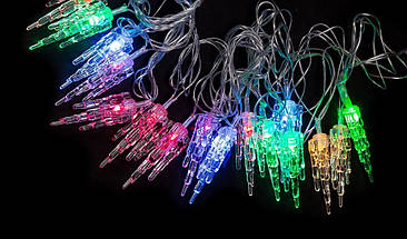 "Новогодняя гирлянда ""Кристалл"" 28 LED, 5 M, фото 2"