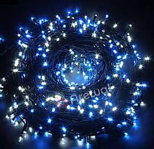 Новогодняя гирлянда 100 LED, Длина 8M, Белый холодный свет,кабель 2,2 мм, фото 2