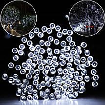 Новогодняя гирлянда 300 LED, IP44, Длина 24 М, Белый холодный свет, фото 2